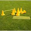Kegel-Horden-Set, 30 cm, geel