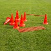Kegel-Horden-Set, 50 cm, rood