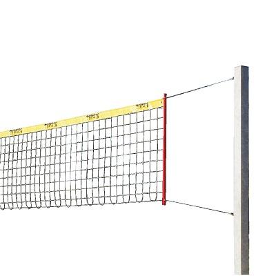 "Sport-Thieme Beachvolleybal-installatie ""Stabil"", Net met ommanteling, Zonder palenbeschermkussen"