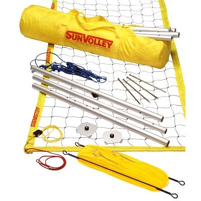 """SunVolley Beachvolleybalinstallatie """"Standard"""", Met speelveldmarkering"""