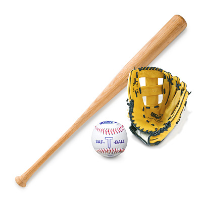 """Base-/teeballset """"Junior"""", Met linker vanghandschoen"""