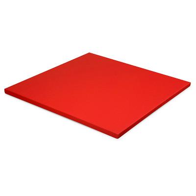 Sport-Thieme Judomat, Rood, Afmeting ca. 100x100x4cm