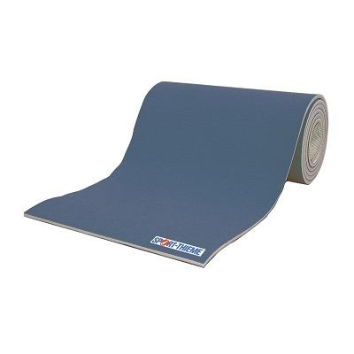 Sport-Thieme Grondturnmatten en Turnvlakken Super per lopende meter, Breedte 150 cm, kleur blauw, 25 mm