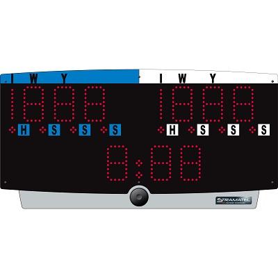 "Stramatel® Judo Scorebord ""J-Top"", Met batterijgebruik"