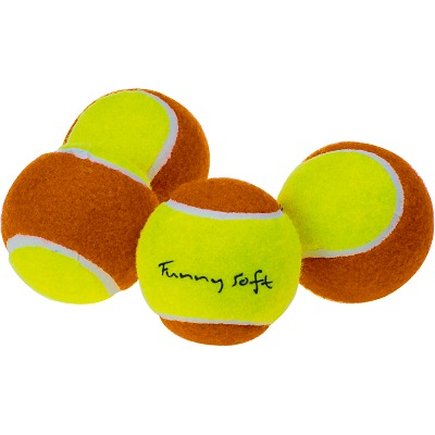 "Sport-Thieme Methodiekballen ""Funny Soft"" , Set van 60 in polyzak"