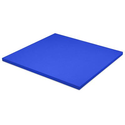 Sport-Thieme Judomat, Blauw, Afmeting ca. 100x100x4cm