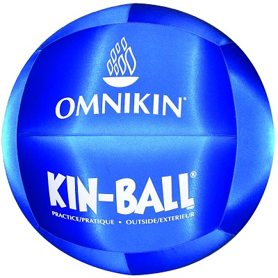 "Omnikin Kin-Ball ""Outdoor"", ø 100 cm, Blauw"
