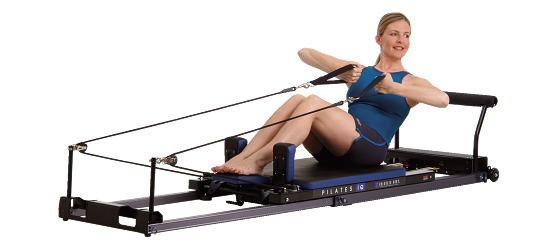 Balanced Body Pilates IQ-Reformer Horizontale wielen