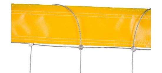 Beach-volleybalnet van Dralo® Zonder ommanteling