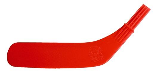 "Dom® Reservevoet voor hockeystick ""Junior"" Voet rood"