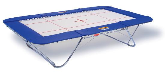 """Eurotramp® trampoline """"Grand Master School"""" Met rolstandaard"""