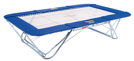 """Eurotramp® trampoline """"Premium 4 x 4"""" Met rolstandaard"""