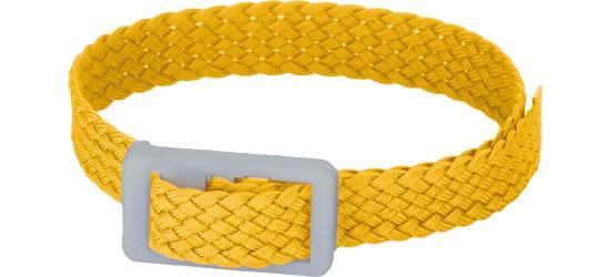 Garderobe- en sleutelbanden Geel