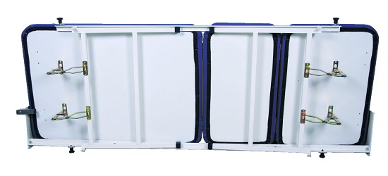 Opklapbed, 3-delig Donkerblauw