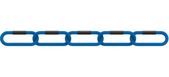 "Reaxing® Gewichtsketting ""Reax Chain Fit 5"" 4 kg, Blauw"