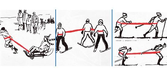 """Reivo®-Band """" Ski"""", 4 m"""
