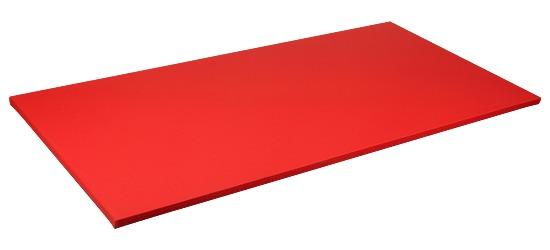 Sport-Thieme® Judomat Afmeting ca. 200x100x4cm, Rood