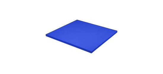 Sport-Thieme® Judomat Afmeting ca. 100x100x4cm, Blauw
