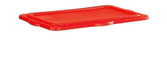 Sport-Thieme® Klemdeksel voor materiaalbox Rood