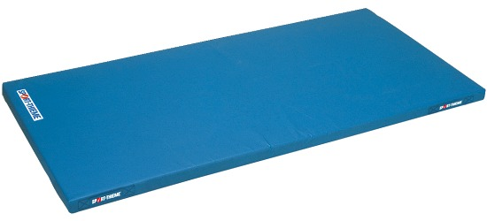 Sport-Thieme® Lichte Kinderturnmat, 150x100x6 cm met Draggrepen, Blauw