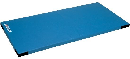 Sport-Thieme® Lichte Kinderturnmat, 150x100x6 cm met Klittenbandhoeken, Blauw