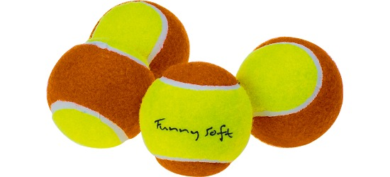 "Sport-Thieme® Methodiekballen ""Funny Soft"" 4-delige set"