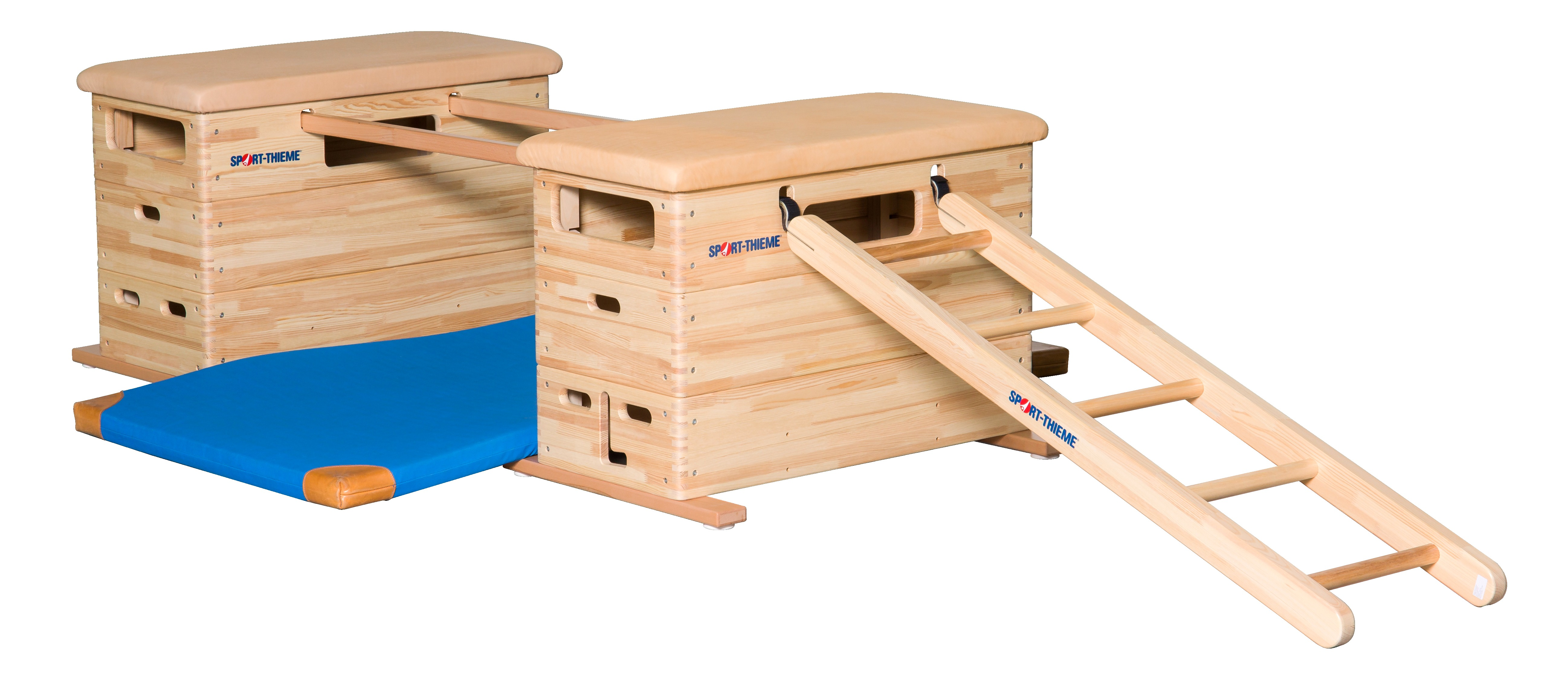 """Sport-Thieme® Mini-Springkasten Set """"Vario"""" Zonder zwenkwielinrichting"""
