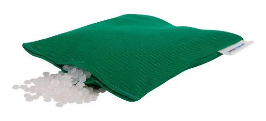 Sport-Thieme Pitten/Bonenzakjes , wasbaar 120 g, ca. 15x10 cm, Groen