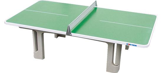 """Sport-Thieme Polymeerbeton tafeltennistafel """"Champion"""" Groen"""
