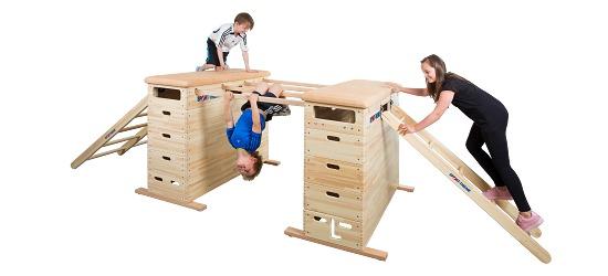 """Sport-Thieme® Springkasten-Set """"Vario"""" Zonder zwenkwielinrichting"""