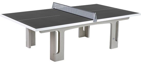 """Sport-Thieme® tafeltennistafel """"Profi"""" van polymeerbeton Antraciet"""
