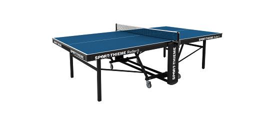 """Sport-Thieme Tafeltennistafel """"Roller II"""" Blauw"""