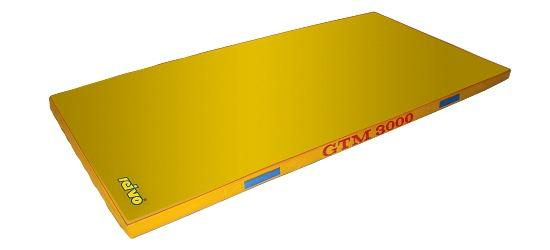 "Sport-Thieme® Toestel Turnmat ""GTM 3000"" 200x100x6 cm, 17 kg, Geel"