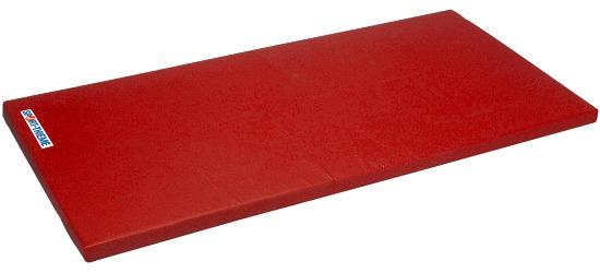 "Sport-Thieme® turnmat ""Spezial"" 200x100x8cm Basis, Polygrip rood"