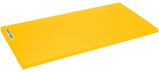 "Sport-Thieme Turnmat ""Super"" 200x125x6cm Basis, Polygrip geel"