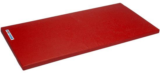 "Sport-Thieme Turnmat ""Super"" 200x125x6cm Basis, Polygrip rood"