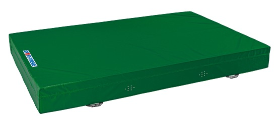Sport-Thieme Zachte valmat Type 7 Groen, 300x200x40 cm
