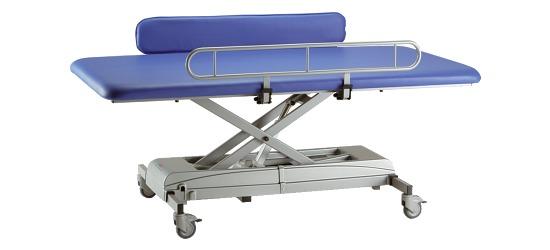 """Verplegings- en verzorgingstafel """"Mona"""" - electrisch 150x65 cm"""