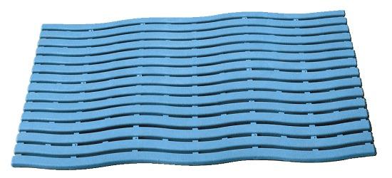 """Zwembadmat """"Durowalk"""" Lichtblauw"""