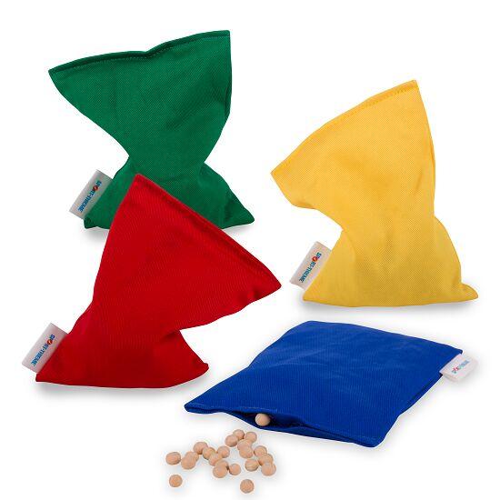 4-delige Set Sport-Thieme® Bonenzakjes Niet wasbaar met bonen gevuld, 120 g, ca. 15x10 cm