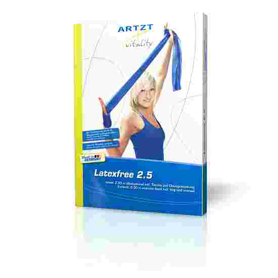 Artzt Vitality Oefenband,latex vrij 25 m, Blauw, extra sterk