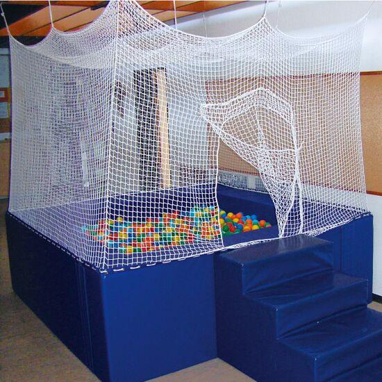 Ballenbad met netomhanging