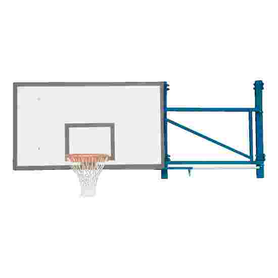 Basketbalwandconstructie draaibaar Overstek 170 cm, Betonmuur