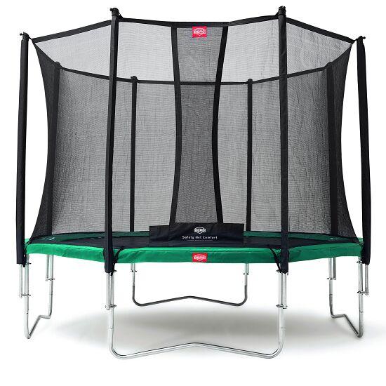 """Berg® Trampoline """"Favorit"""", met veiligheidsnet Comfort Randbedekking groen, ø 2,70 m"""
