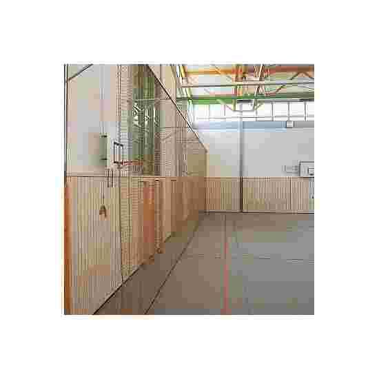 Bescherm- en stopnet, 4,5 cm maaswijdte Polypropyleen, groen, ø 2,3 mm
