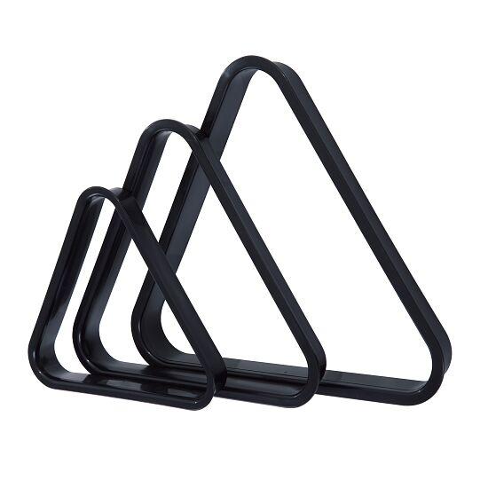 """Biljart driehoek """"Triangel"""" kunststof Voor biljartballen ø 38 mm"""