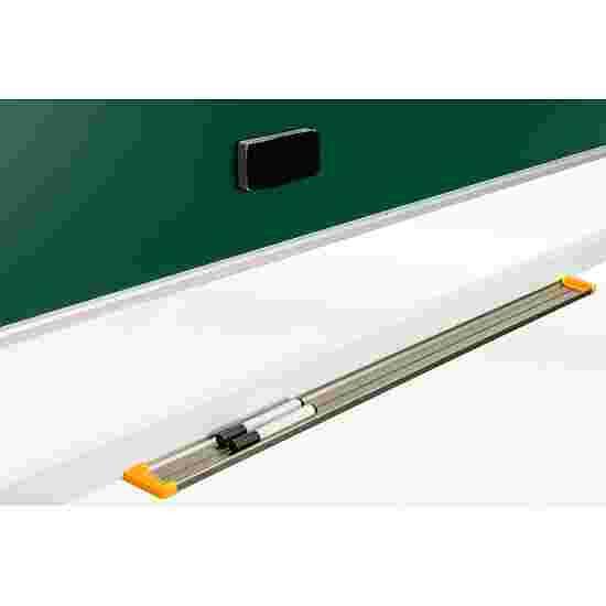 Bord draaibaar, verrijdbaar Krijtbord/whiteboard, 150x100 cm