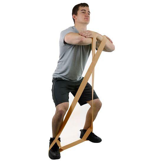 """CanDo® Multi-Grip™ Fitnessband """"Exerciser"""" Lichtbruin, extra licht"""
