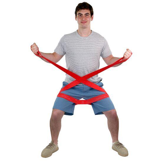 """CanDo® Multi-Grip™ Fitnessband """"Exerciser"""" Rood, medium"""
