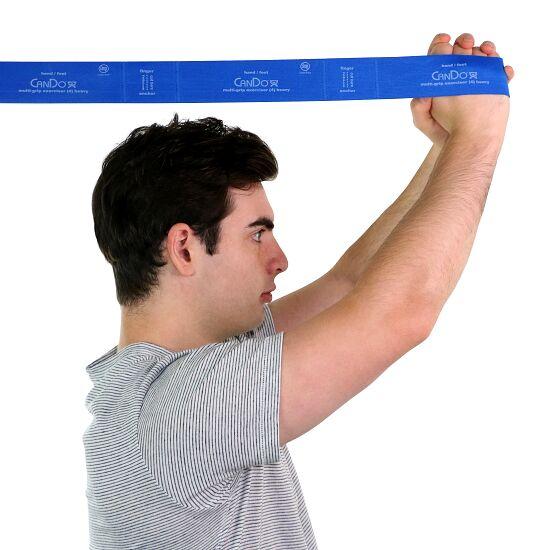"""CanDo® Multi-Grip™ Fitnessband """"Exerciser"""" Blauw, extra sterk"""